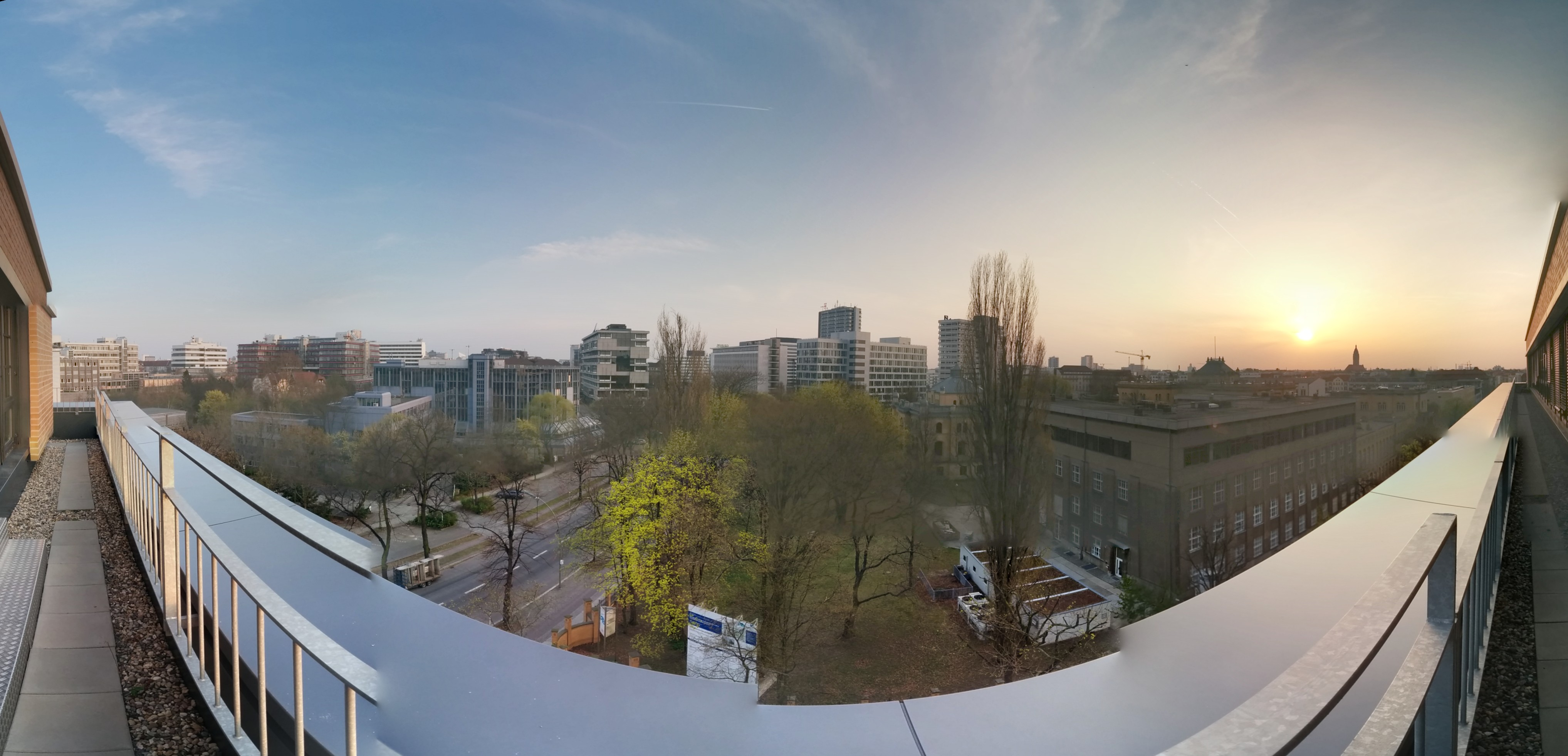 Panorama of TU-Berlin